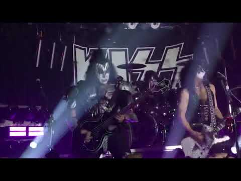 Bo and Jim - KISS playing the Whiskey A-Go-Go in Los Angeles...Love Gun