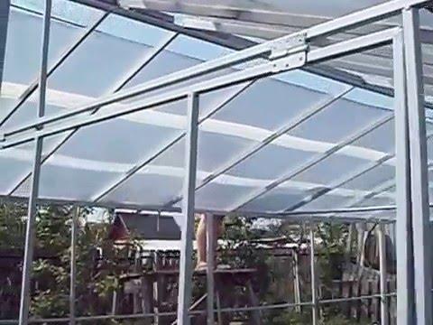видео: Теплица на ЛЕТО 4*12 метра. Поликарбонат. Металлический профиль.