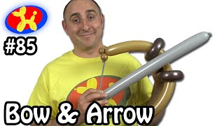 Bow and Arrow  - Balloon Animal Lessons #85