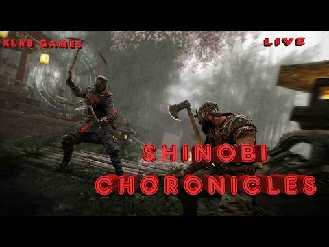 For Honor Shinobi Chronicles 0/30 Reputation  | Total Noob Right Here