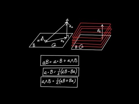 Geometric Algebra in 3D - The Vector-Bivector Product (Part 1)