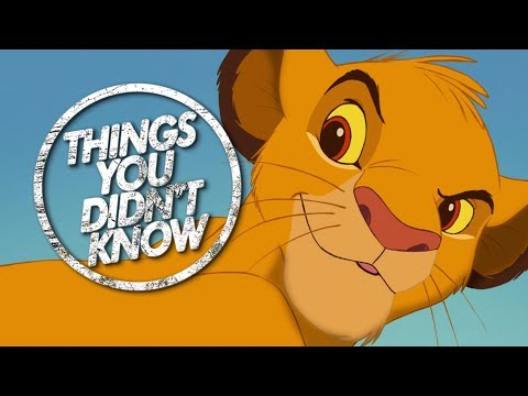 9 Things You (Probably) Didn't Know About The Lion King