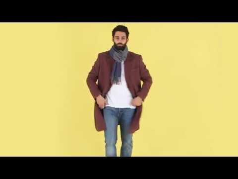 Comment nouer son écharpe selon le manteau   ASOS Homme - YouTube b03749c03e6