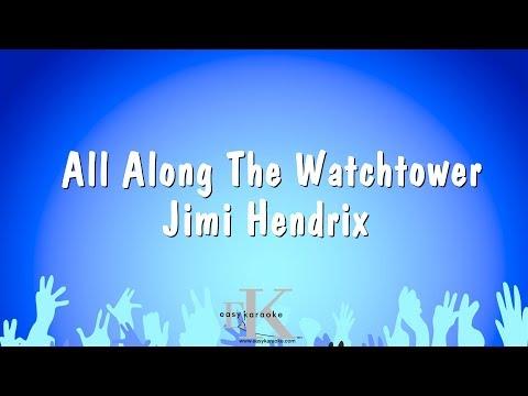 All Along The Watchtower - Jimi Hendrix (Karaoke Version)