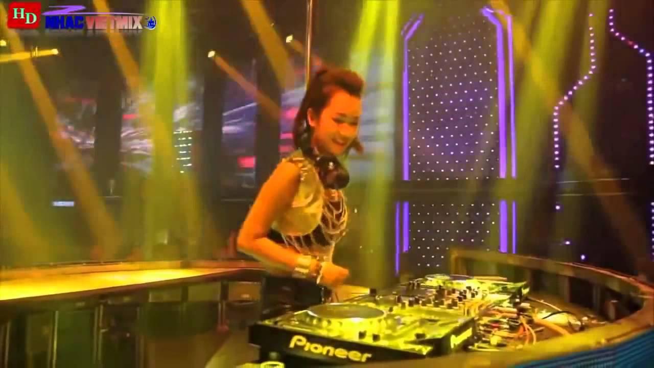 Nhạc Trẻ Remix Quẩy Cùng DJ Trang Moon
