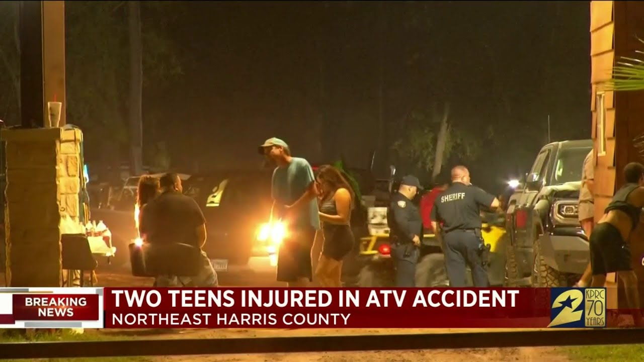 Two Teens Injured in ATV Accident