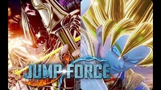 jump force all characters unique dialoges
