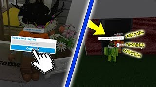 DONNER 100K TO USE THE SHOWER (Roblox Bloxburg)