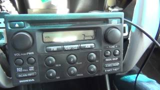 GTA Car Kits - Honda Accord 1998-2002 install of iPhone, iPod and AUX adapter for factory stereo