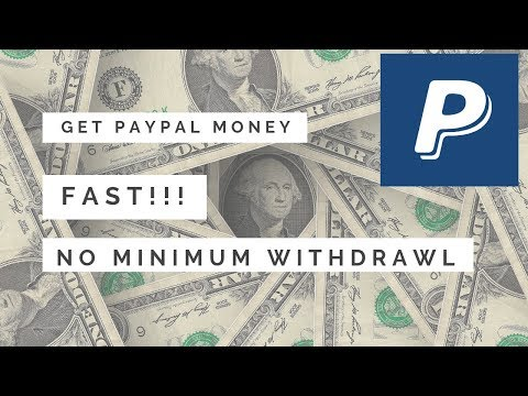 Website That Pays PayPal Money Fast - No Minimum Withdraw 🔥🔥🔥