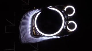 Nissan Stagea Led TTSL Angel Eyes by TAU tech Ангельские Глазки для Ниссан Стэйджа(Полное видео тут https://www.youtube.com/watch?v=d6XM_Y--B-A Дневные ходовые огни в форме ангельских глазок в оригинальные..., 2016-04-10T20:08:18.000Z)