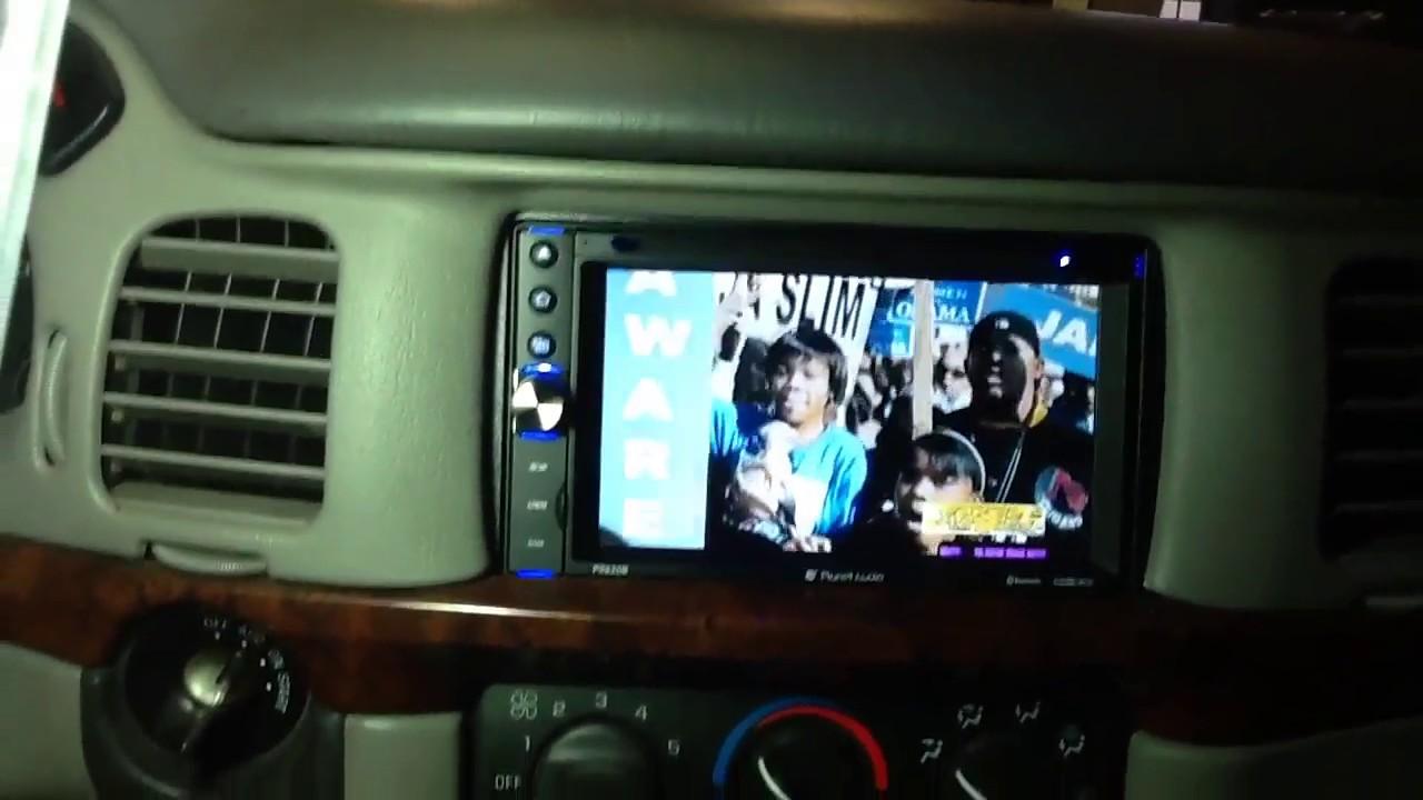 2003 2006 chevy impala bluetooth touchscreen double din [ 1280 x 720 Pixel ]