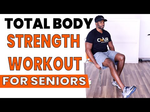 Total Body Seated Strength Workout For Seniors | Low Impact For Bad Knees
