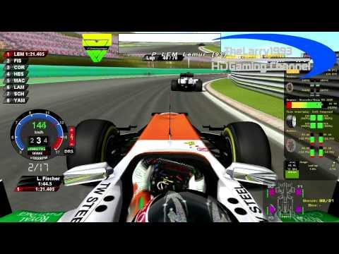 rF1-Simracing.eu - OnBoard Hungarian Grand Prix