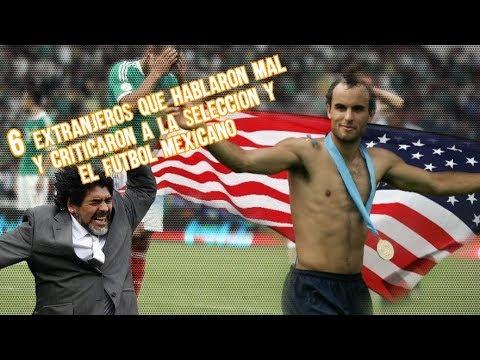 6 Extranjeros que Hablaron Mal y Criticaron a la Selección y el Futbol Mexicano Microtop Boser Salse
