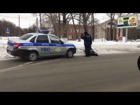 В Ульяновске задержали буйного пассажира маршрутки