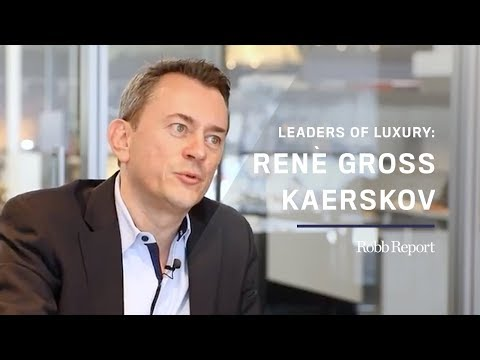 Leaders of Luxury Series: René Gross Kaerskov, Co-CEO of Interior Design Firm HBA