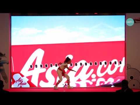 Thai AirAsia X launch performance การแสดงเปิดตัวสายการบินไทย แอร์เอเชีย เอ็กซ์