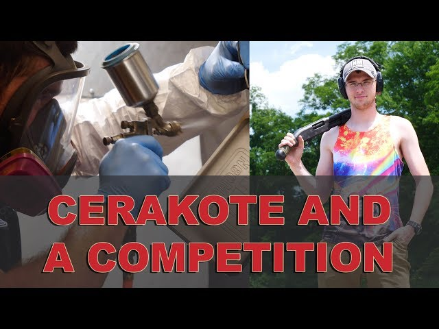 Trays get Cerakote - Shooting Competition is on!