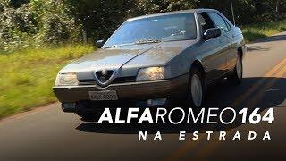 Alfa Romeo 164 na estrada