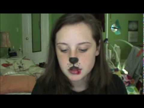 Halloween Tutorial: Puppy Dog - YouTube