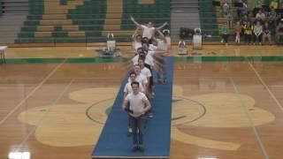 2016 Irish Spirit Week Sophomore Boys Dance