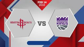 connectYoutube - Sacramento Kings vs Houston Rockets: February 14, 2018