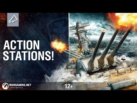 Action Stations! World of Warships Is Live