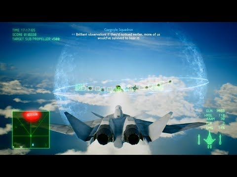 Ace Combat 7: Skies Unknown (X-02S Strike Wyvern) Mission 3 l Two-pronged Strategy |_ T )