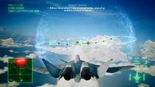 Ace Combat 7: Skies Unknown (X-02S Strike Wyvern) Mission 3 l Two-pronged Strategy  _ T )