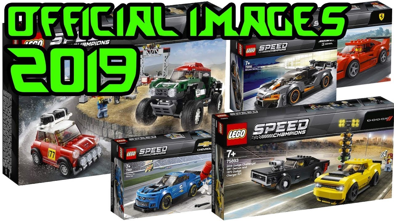2019 lego speed champions official images youtube. Black Bedroom Furniture Sets. Home Design Ideas
