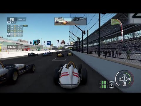 Project CARS 2 Vintage Indycar Crazy Start + Deathwreck at Indianapolis