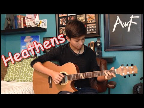 Twenty One Pilots- Heathens - Cover (Fingerstyle Guitar) / OST Suicide Squad