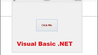 إنشاء Visual Basic بسيطة التطبيق في Visual Studio 2015