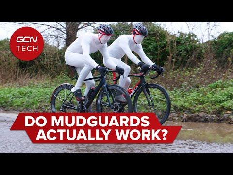 Quelle est l'efficacité des ailes pour garder les cyclistes propres? | Une ode aux garde-boue