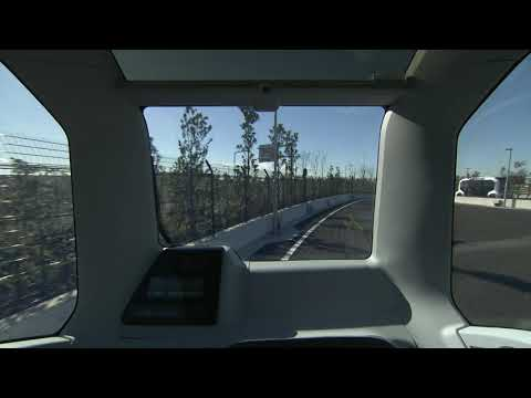 Driving scene (from inside)