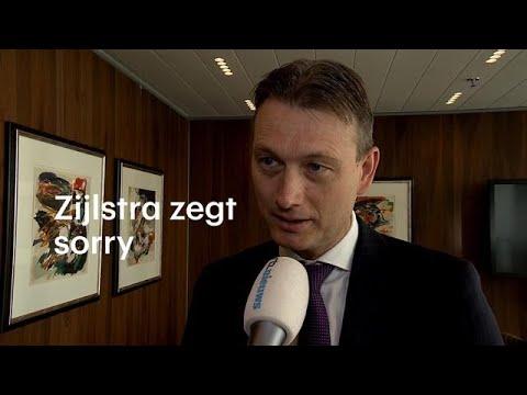 """Zijlstra door het stof: """"Het was dom en het spijt me."""" - RTL NIEUWS"""