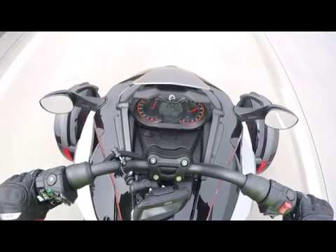 Can Am spyder on German highway top speed