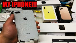 Found MY iPhone 8 Plus Dumpster Diving at the Apple Store!!!