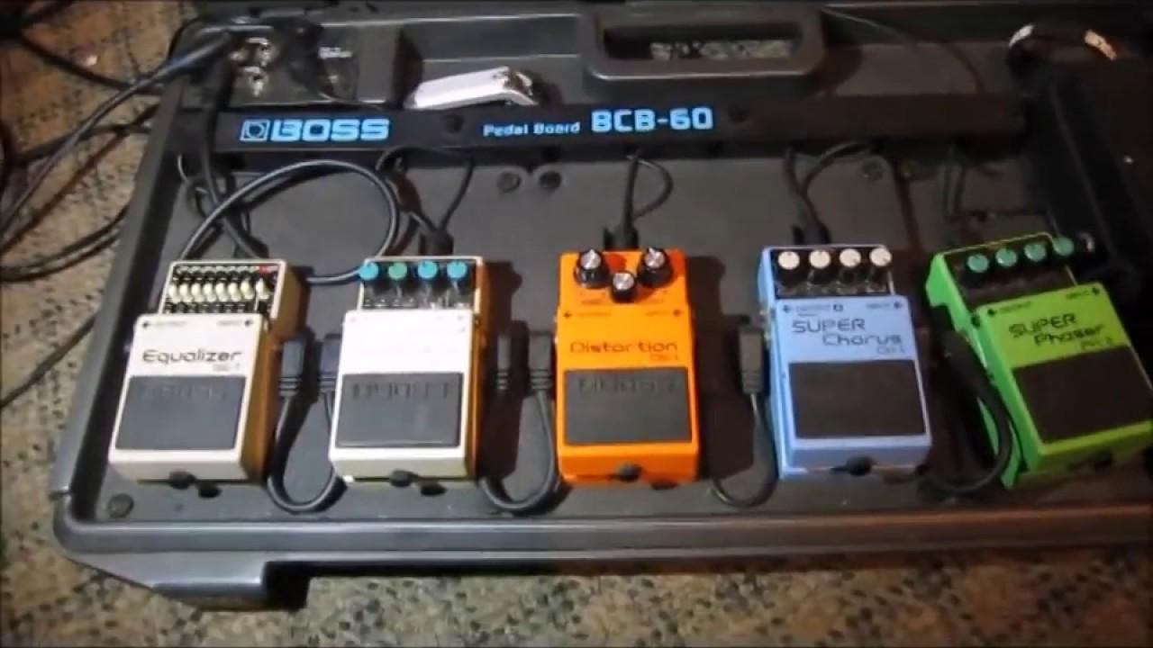 pedal board guitar effects tutorial kompa sound setup youtube. Black Bedroom Furniture Sets. Home Design Ideas