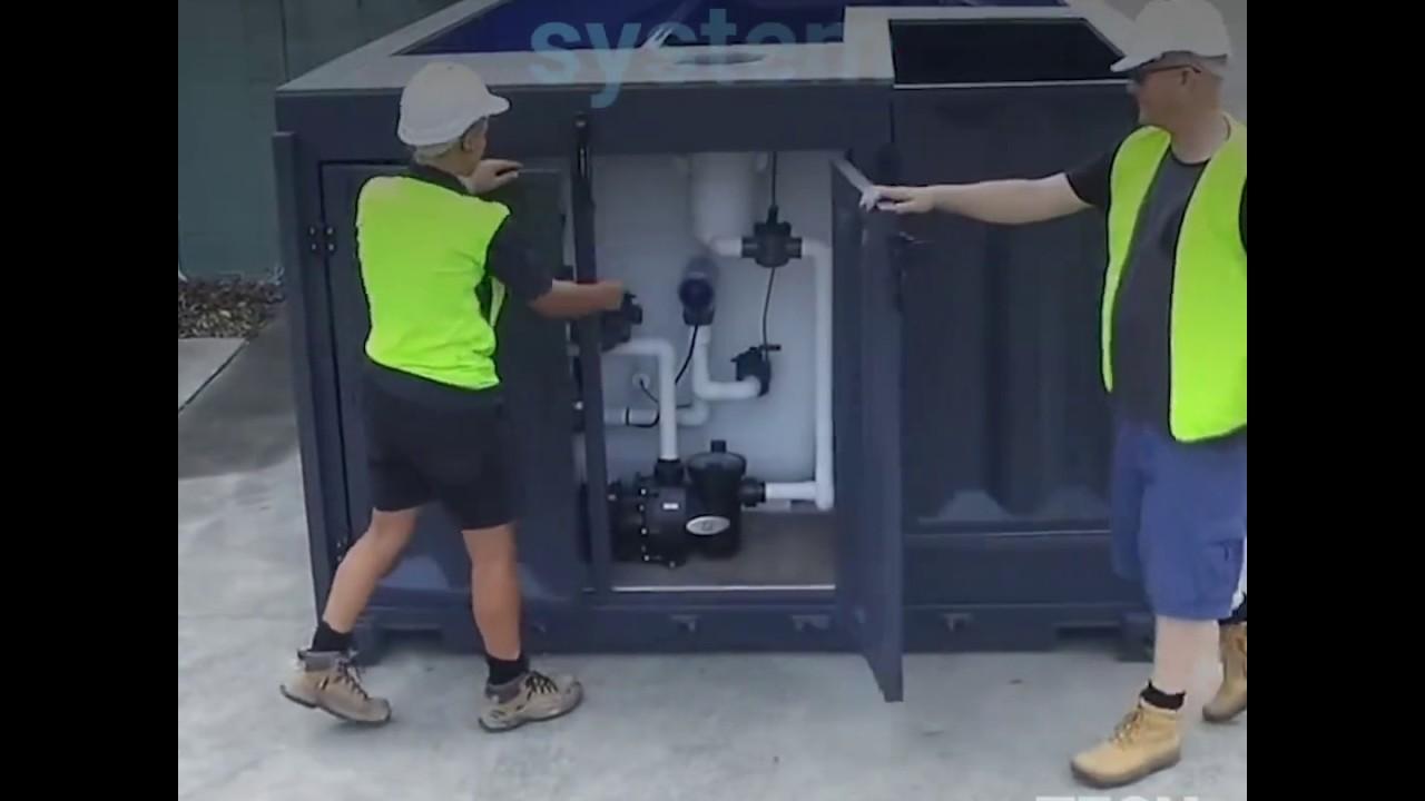 Los australianos compran contenedores reciclados para for Fabricar piscina