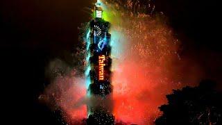 TAIPEI 101 2020 FIREWORKS DISPLAY IN 4K