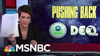 Snyder Administration Sketchy On Millions In Aid For Flint | Rachel Maddow | MSNBC