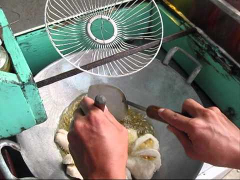 Jakarta Street Food 227 Fried Fish Paste (Pempek).