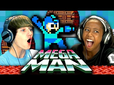 Mega Man (NES) (Teens React: Retro Gaming)