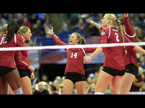 Highlights: Stanford women's volleyball knocks off Minnesota, heads to national title match