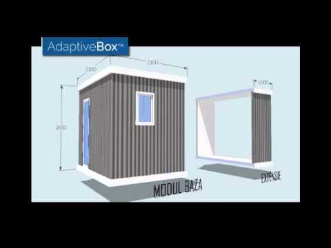 AdaptiveBox™ - innovative low cost modular building solution