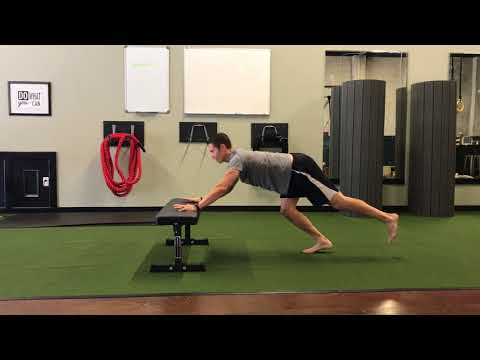 Modified Elevated Rocking Pushup