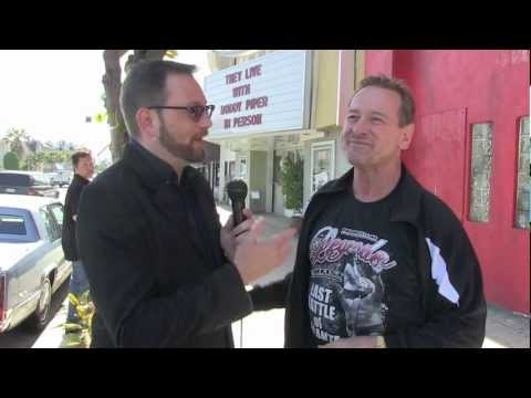 "Interview with Rowdy Roddy Piper at ""They Live"" Screening in LA"