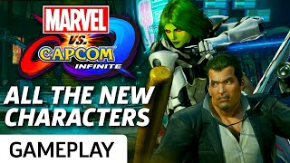 Marvel vs. Capcom: Infinite - Full Matches With Gamora, Frank West, and More!